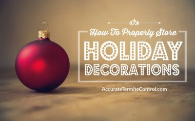 How to Properly Store Away Holiday Decor
